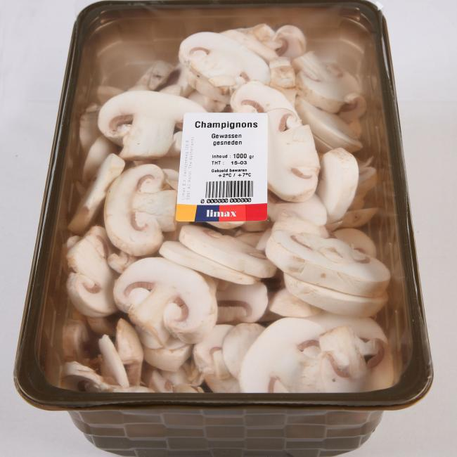 Freshly washed and sliced mushrooms? We prove that it is possible.